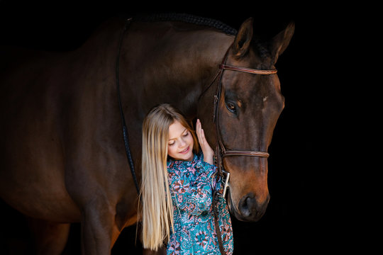 Little Girl & Big Horse