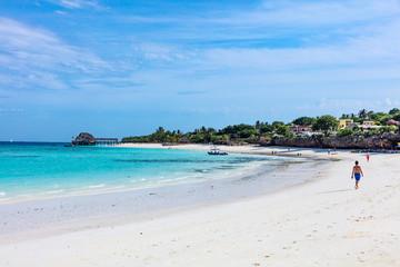 Foto auf Leinwand Sansibar Kendwa beach Unguja Zanzibar Island Tanzania East Africa