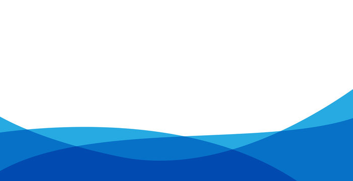 simple blue background . flat blue gradation . wavy background