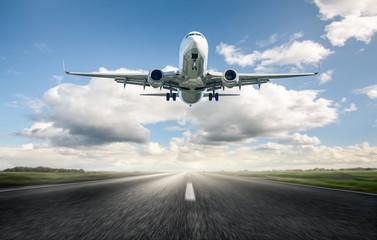 Airplane Landing  Fototapete