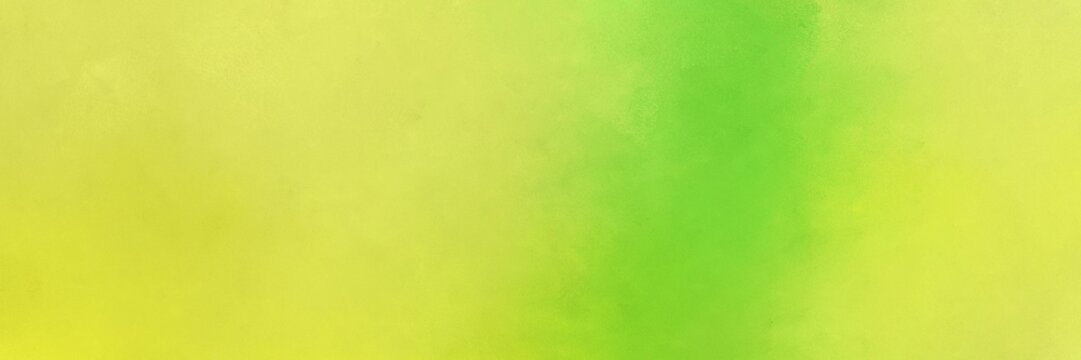 abstract painting background graphic with dark khaki, yellow green and khaki colors and space for text or image. can be used as header or banner