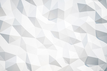Abstract white polygon texture
