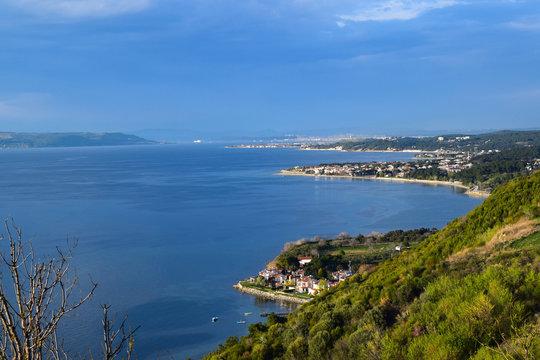 Dardanelles and Guzelyali village, Eren Keui Bay