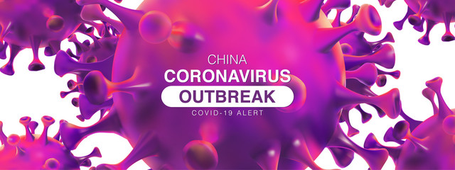 China epidemic coronavirus 2019-nCoV in Wuhan, Novel Coronavirus Alert outbreak in China. Virus Covid 19-NCP. Spread of the novel coronavirus Background.