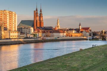 panorama Starego Miasta Opole