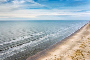 Fototapete - Baltic sea next to Liepaja, Latvia.