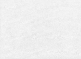 White fabric texture background.