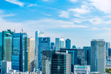 東京の都市風景 Fototapete
