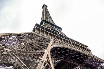 Poster Eiffeltoren Eiffel Tower, Photo image a Beautiful panoramic view of Paris Metropolitan City