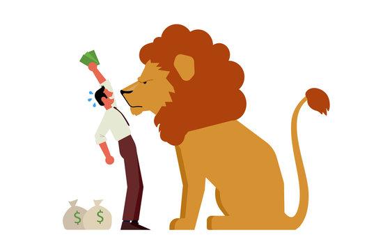 Leão do imposto de renda, leão da receita federal, IRPF, Receita federal