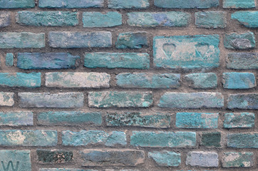 Texture brick wall, background, detailed pattern