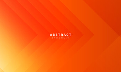 Abstract minimal orange background with geometric creative and minimal gradient concepts, for posters, banners, landing page concept image Wall mural