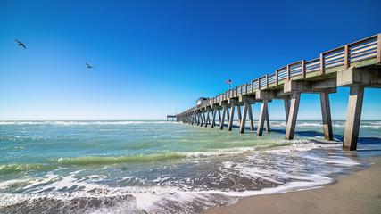 the famous pier of venice, florida