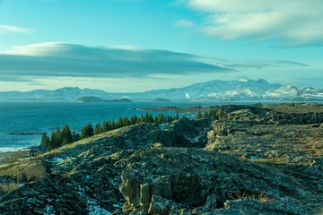 Fotorollo Turkis Volacan Glacier Islande