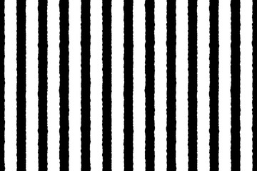 Vector seamless vertical stripes pattern with torn paper effect. Simple design for fabric, wrapping, wallpaper, textile