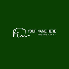 Nw Initial Signature Photography Logo