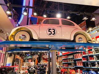 disney store Herbie The Love Bug Decals Vehicle Graphics Stickers Volkswagen Type 1 Beetle  movies star car lovebug vw