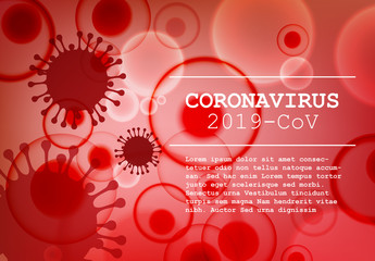 Digital Flyer Layout with Coronavirus Information