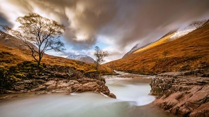 Fototapeta Szkocja, Glen Etive obraz