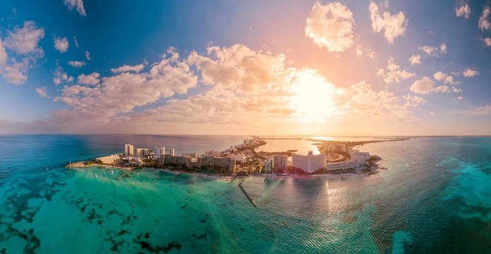 Panoramica de Cancún