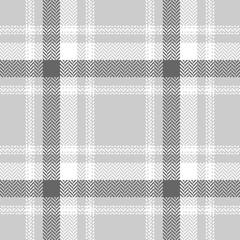 Seamless herringbone check plaid pattern vector. Tartan plaid for flannel shirt, skirt, jacket, coat, blanket, throw, duvet cover, or other summer, autumn, or winter textile design.