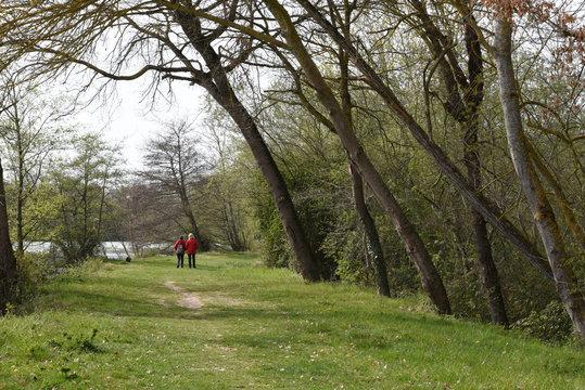 Lac à  Carbonne Haute Garonne