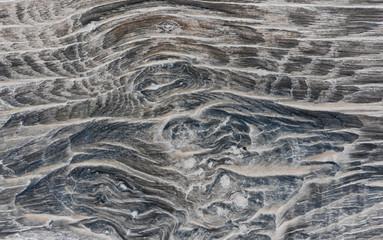 Canvas Prints Onde tra legno e acqua