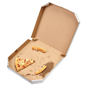 pizza box food cardboard delivery package meal dinner lunch
