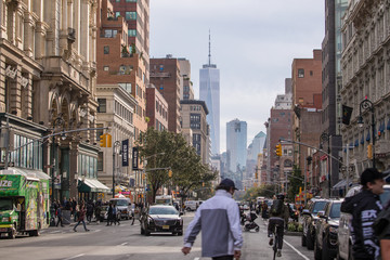 New York City streets - Urban landscapes