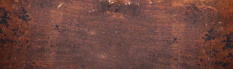 Horizontal texture of wooden background. Long banner format Fototapete