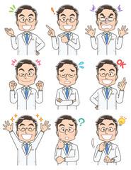 医者 医師 イラスト ドクター かわいい マンガ アニメ 白衣