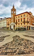 Wall Mural - Square of the Three Martyrs in Rimini
