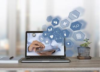 E health service, telemedicine