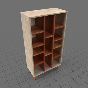 Scandinavian style bookshelf