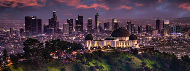 Fotomurales - Los Angeles from Griffith park