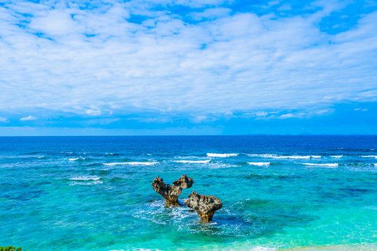 ハートロック 沖縄県観光スポット 日本