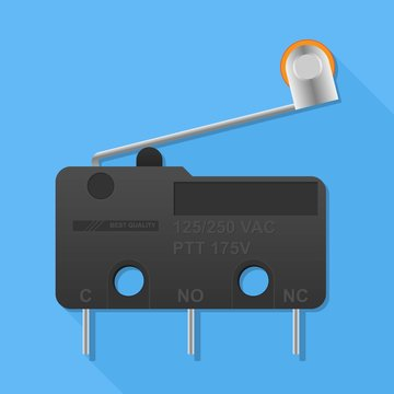 limit switch or micro switch for sensing and detection control