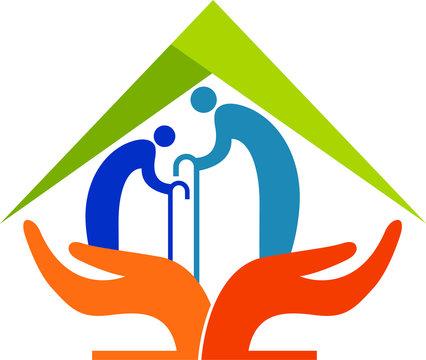 senior citizen care logo