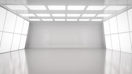 Empty room interior Wall mural