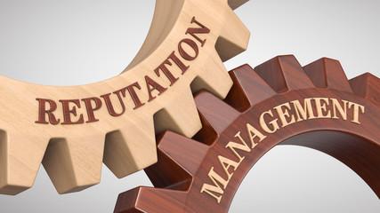 Reputation management concept