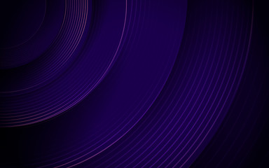 Wall Mural - Abstract purple circle line stripes. Hi-tech futuristic background