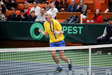 Tennis - Davis Cup Qualifiers - Sweden v Chile