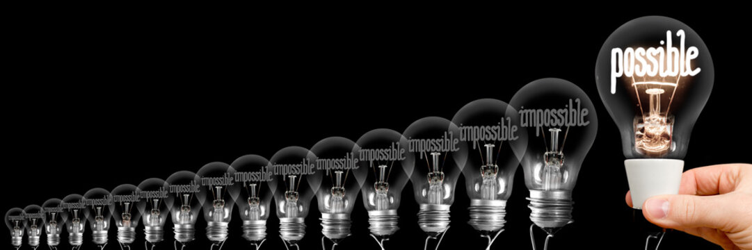 Light Bulbs with Possible and Impossible Concept