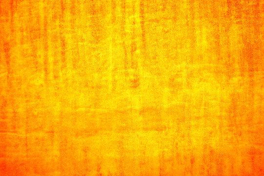 Bright yellow velvet fabric. Yellow background