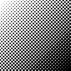 Fotobehang Pop Art Halftone dots background. Vector dots background.