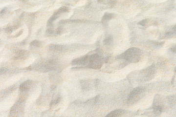 Fototapete - Beautiful nature background, full frame texture of sand
