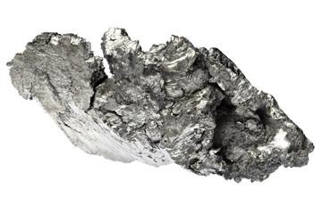 99.95%fine lutetium isolated on white background Fototapete