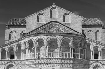 Fototapete - Exterior of church in Murano island, Venice, Italy