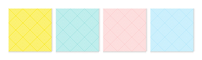 Background pattern seamless chevron abstract colorful pastel colors. Summer background design.