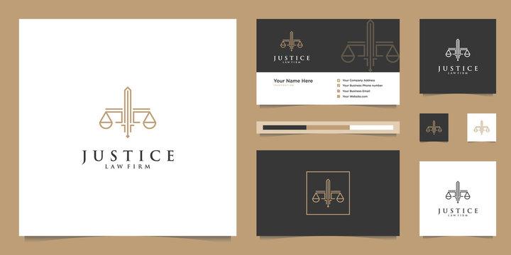 Luxury  Justice logo design inspiration.